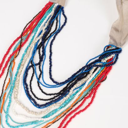 Shop Stella | Beaded Embroidered Necklace - Accessories | Stella McCartney :  necklace stella bold designers